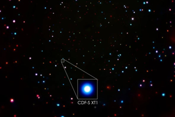 Astronomers Struggle to Explain Mysterious X-Ray Burst