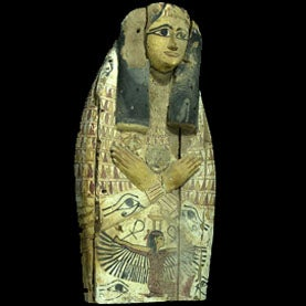 """""""Breathtaking"""" Mummy Coffin Covers Seized in Israel"""