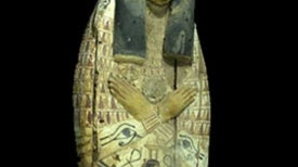 """Breathtaking"" Mummy Coffin Covers Seized in Israel"