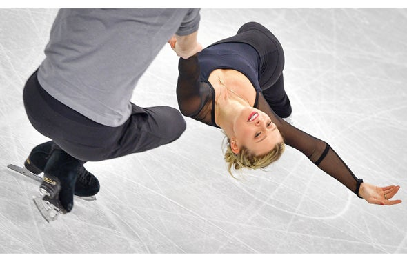 Go Figure: Why Olympic Ice Skaters Don't Fall Flat on Their Faces