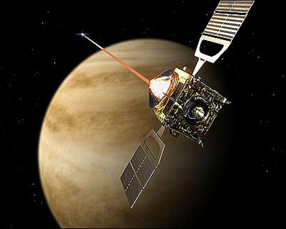 Venus Express Arrives