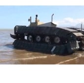 INFLATABLE TANK TREADS: