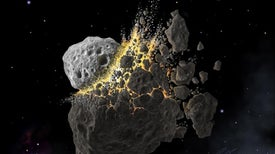 Asteroid Dust Triggered an Explosion of Life on Ancient Earth
