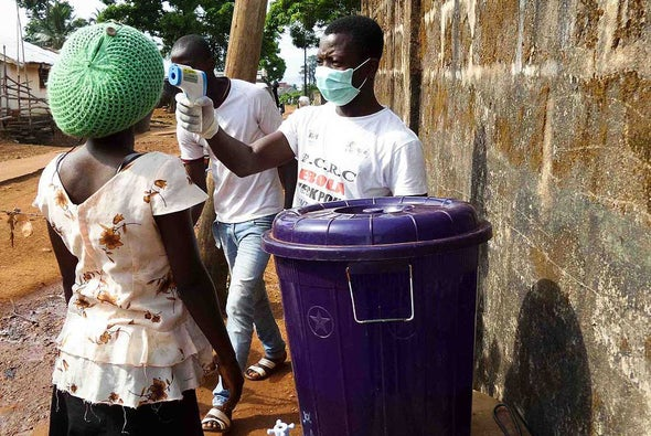 Ebola Survivor's Blood Holds Promise of New Treatment