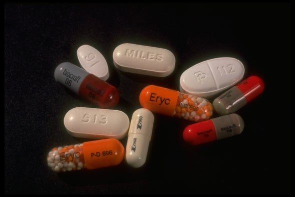 Hundreds of Antibiotics Built from Scratch