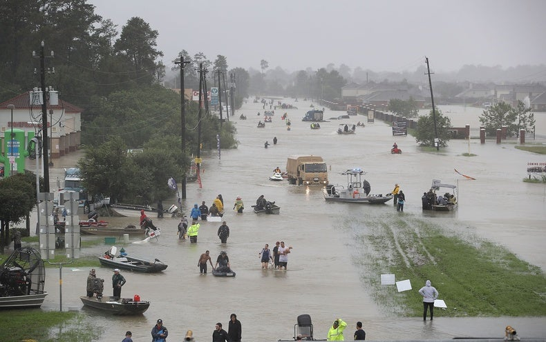 Global Warming Tied to Hurricane Harvey