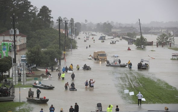 Global Warming Tied to Hurricane Harvey
