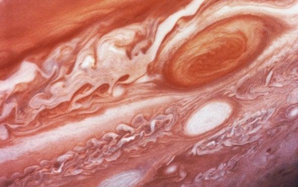 Great Red Spot Helps Explain Jupiter's Warm Upper Atmosphere