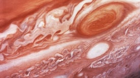 Great Red Spot Helps Explain Jupiter's Warm Upper Atmosphere