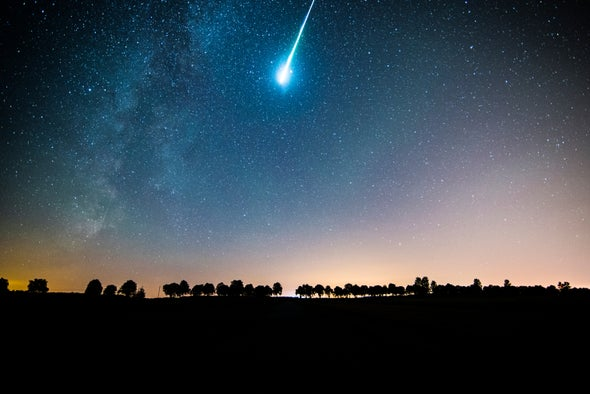 Did a Meteor from Another Star Strike Earth in 2014?