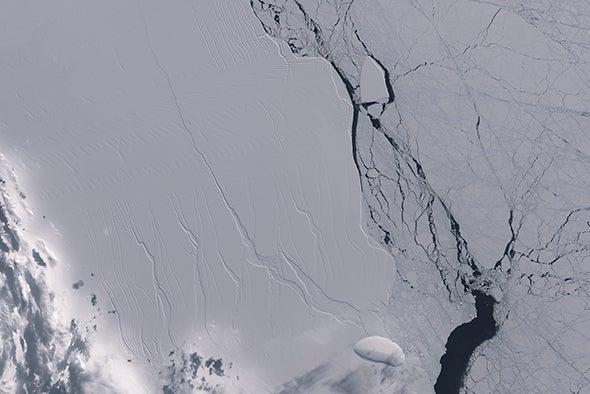 Trillion-Ton Iceberg Breaks Off Antarctica