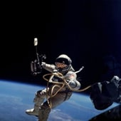 The First American Spacewalk