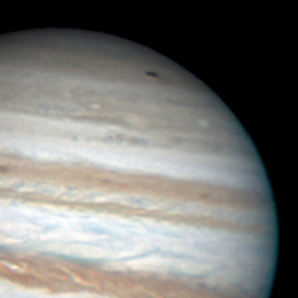 Amateur Astronomer Spies a Fresh Impact Scar on Jupiter