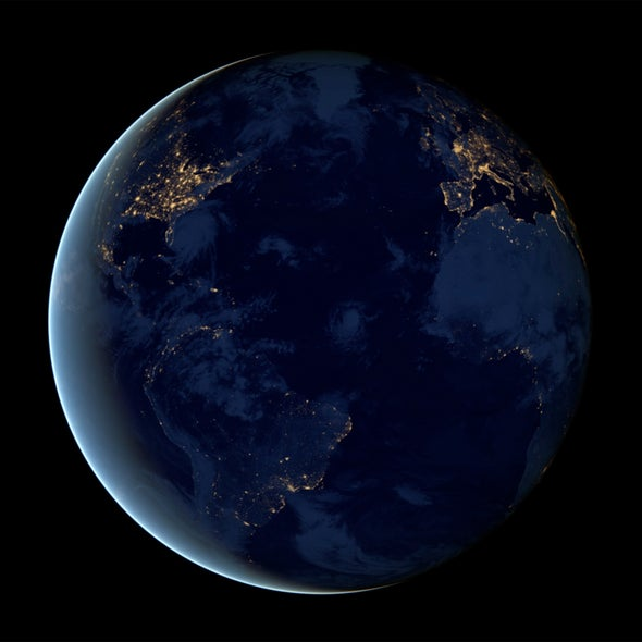 NASA Releases Stunning Animation of Earth at Night