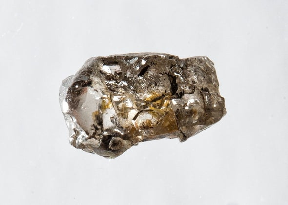 Rare Diamond Confirms That Earth's Mantle Holds an Ocean's Worth of Water