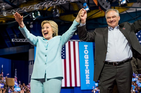 Tim Kaine's Climate Record Is All over the Map