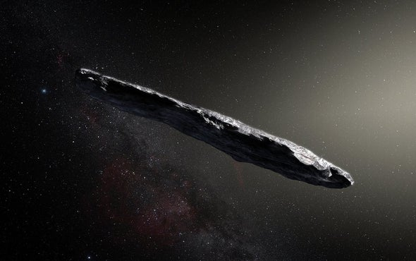 Interstellar Mystery Object Now Thought to Be a Comet