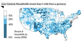 Food Deserts Leave Many Americans High and Dry
