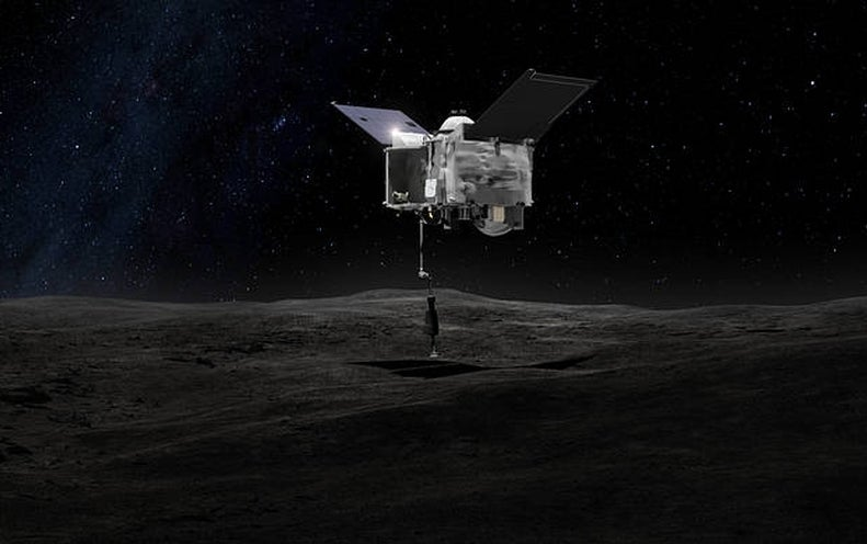 SpaceX rocket explosion would not affect NASA's Bennu exploration mission