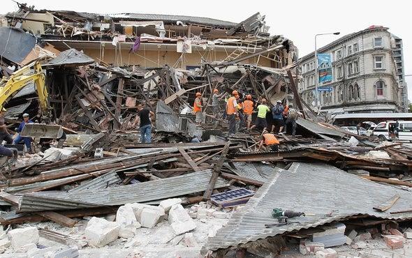 """""""Utter Devastation"""" After Major Quake, Aftershocks Hit New Zealand"""
