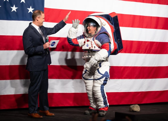 NASA Just Unveiled the Space Suit to be Worn by the First Woman on the Moon