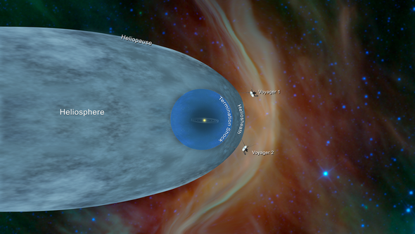 Voyager 2 Spacecraft Enters Interstellar Space