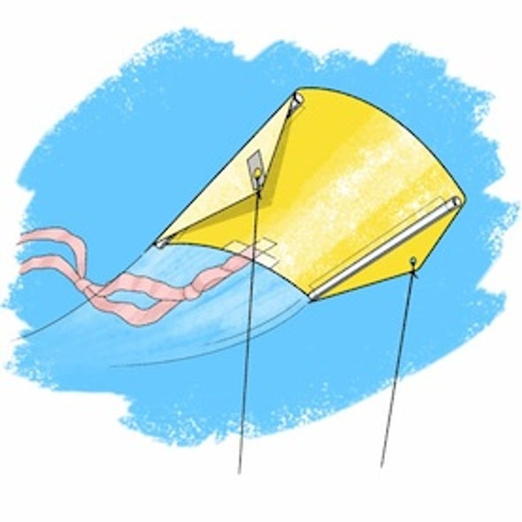 Stability Science: How Tails Help a Kite Fly