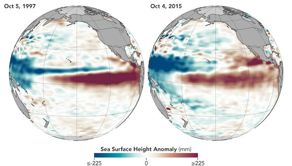 Strong El Niño to Usher in Lots of Winter Rain