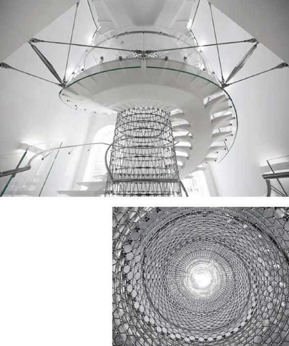 Snaking Staircase Nominated for Prestigious Engineering Award