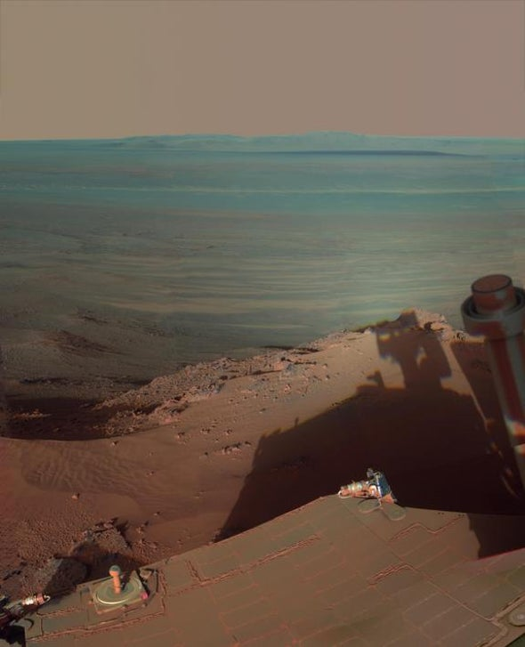 NASA's Opportunity Rover: A Decade of Exploration