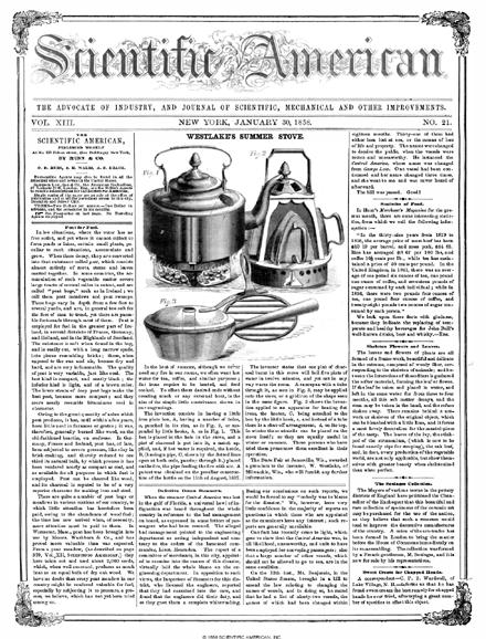 January 30, 1858
