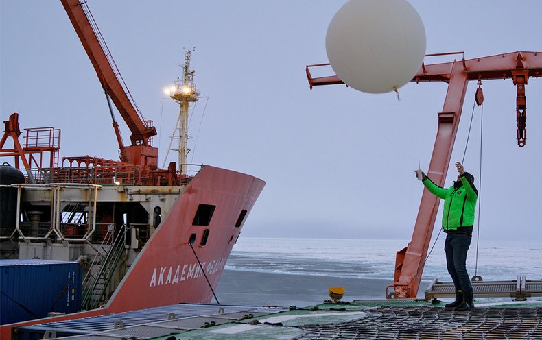 Frozen Researchers Will Greatly Improve Arctic Weather Prediction
