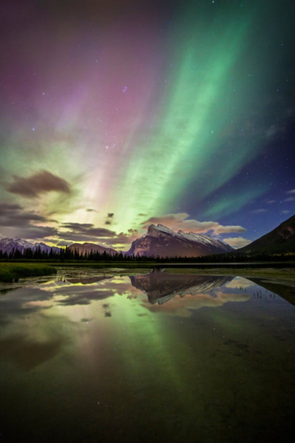 Chasing the Geomagnetic Storm for a Nighttime Light Experience Like No Other [Slide Show]