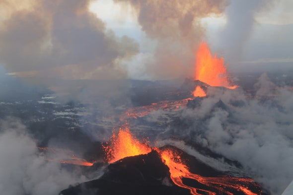 Earthquakes Jolt Icelandic Volcano as It Refills with Magma