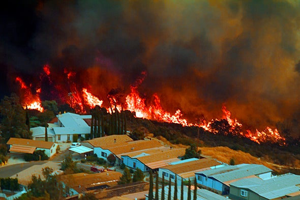 Suburbs Are Increasingly Threatened by Wildfires Due to Climate Change