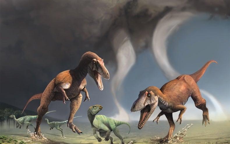 New Dinosaur Had the <i>T. rex</i> Look: Tiny Arms