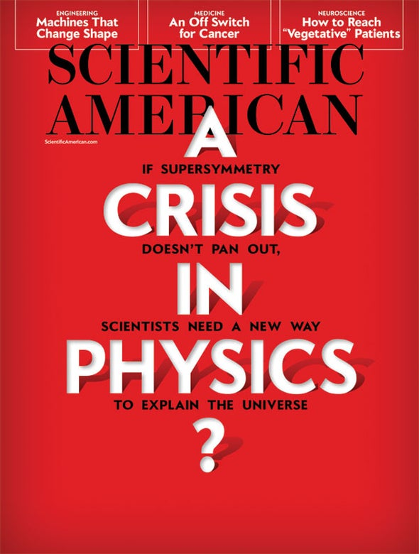 "Readers Respond to ""A Crisis In Physics?"""