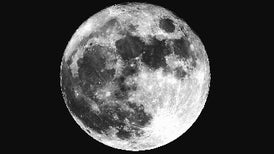New Model Aims to Solve Mystery of the Moon's Formation