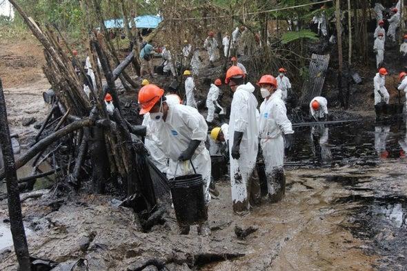 Oil Spills Stain Peruvian Amazon