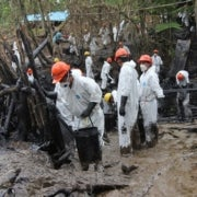 Oil Spills Stain Peruvian Amazon