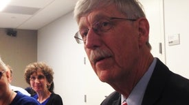 NIH Director Looks at Presidential Transition
