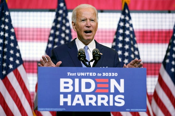 What a Joe Biden Presidency Would Mean For Science