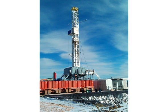 Fracking Wells Can Cut Their Toxic Chemical Use