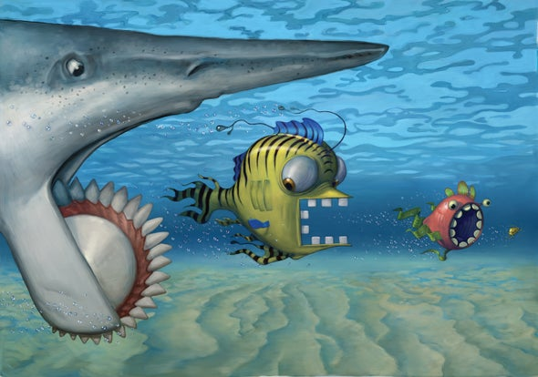 Sharklike Helicoprion Ruled Its Environs with a Row of Vertical Teeth