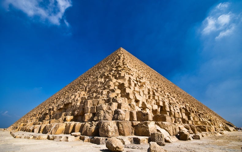 A Ramp Contraption May Have Been Used to Build Egypt