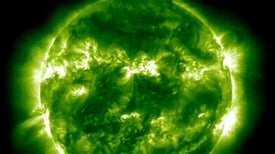 "Planet-Size ""Waves"" Spotted in the Sun's Atmosphere"