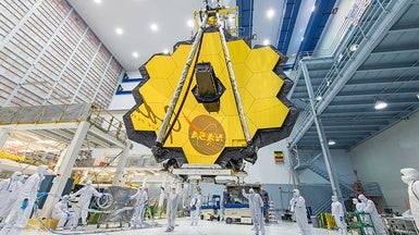 World's Biggest Space Telescope Heads West on Path to Launchpad