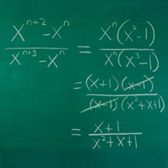 Warp-Speed Algebra: New Algorithm Does Algebra in a Snap