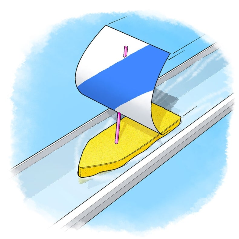 Anchors Aweigh! How Does Pressure Propel Sailboats?