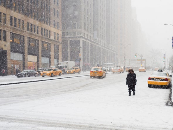 Humans Did Not Cause the U.S. Cold Snap